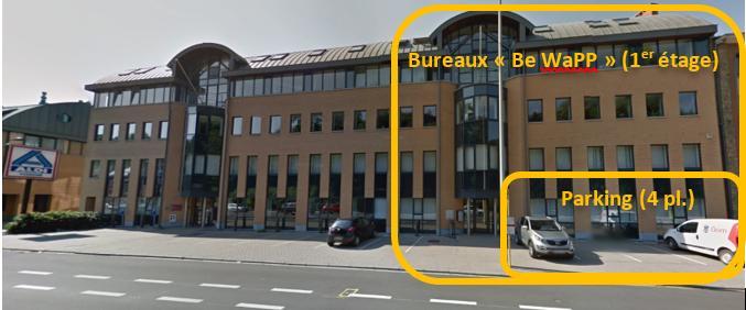 Bureaux de Be WaPP