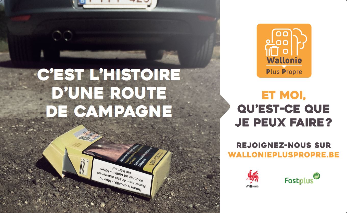 Bâche Libramont Wallonie Plus Propre