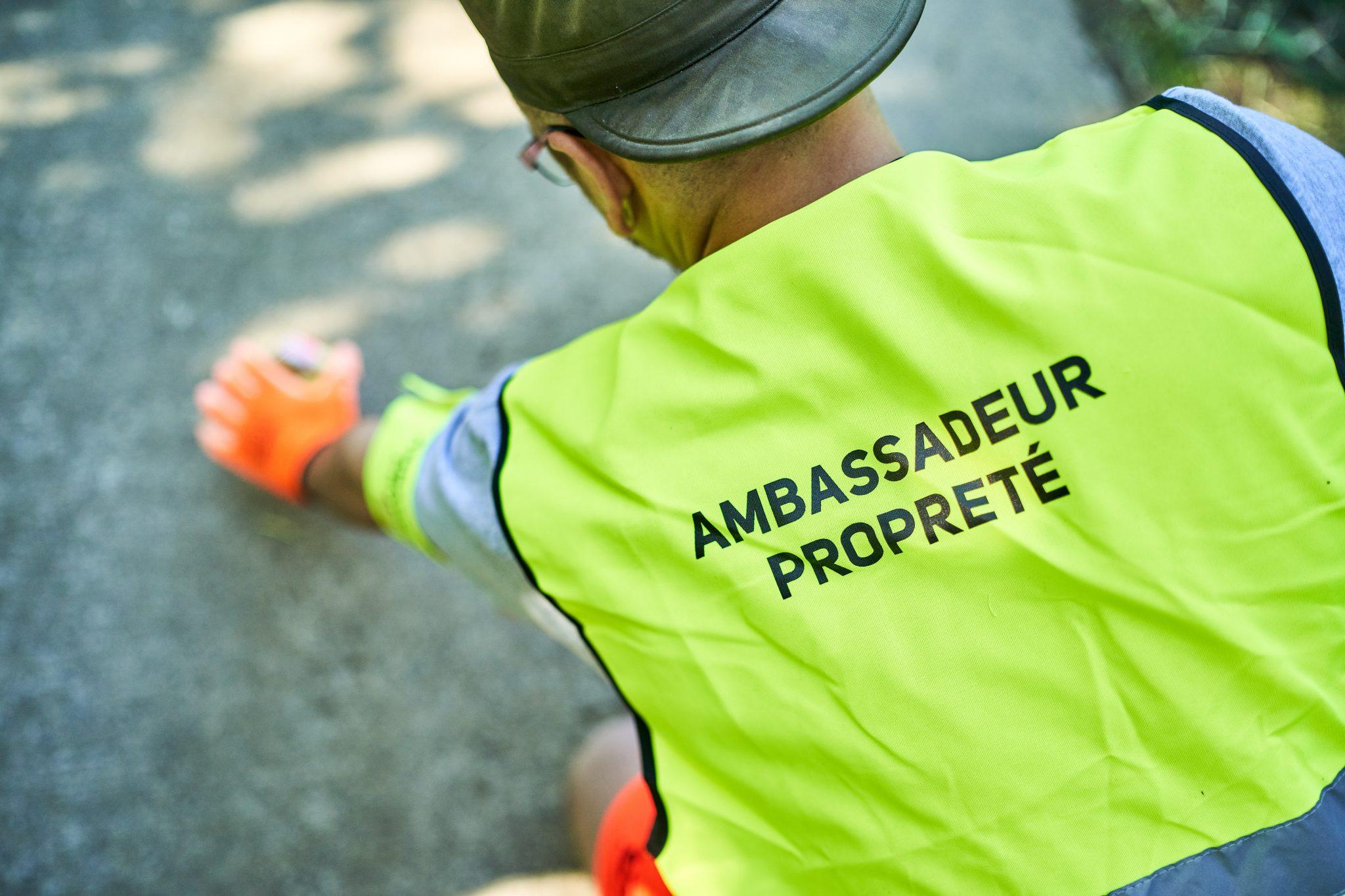 ambassadeur de la propreté